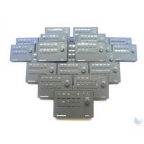 Lot of 25 Crestron MP-B10 10 Button w/knob Presentation Button Panels
