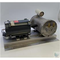 GE 5KH35PG1182AX 1/4 HP113 VAC Vacuum Pump Motor - Tested Working