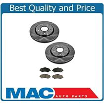 (2) 302MM 11 7/8 Inch 53052 Disc Brake Rotors Front & CD1273 Ceramic Pads