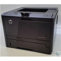 HP Laserjet Pro 400 M401n Printer with Under 10000 Impressions - See Description