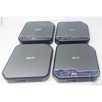 LOT OF 4 ACER Veriton N281G Thin Client w/ Intel Atom D425 @1.8GHz