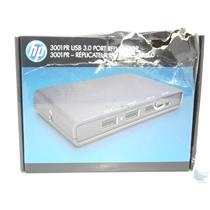 New HP 3001PR USB 3.0 Port Replicator 745898-001