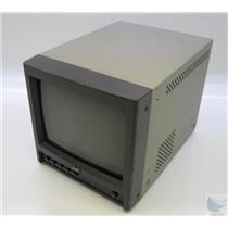 "JVC TM-A9U 9"" Color Security Broadcast CRT Display Monitor - TESTED & WORKING"