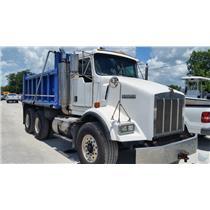 2002 Kenworth T800 10.3L L6 Diesel 6x4 Tandem Axle Dump Truck