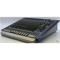 Mackie 1642-VLZ3 Premium 16-Channel/4-Bus Compact Mixer Tested & Works Great!