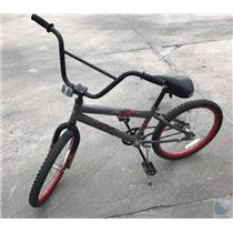 """Huffy RockIt Boys Bike Grey Black and Red 20"""" tires 11"""" frame - PICK UP ONLY"""