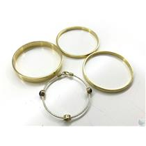 Lot of 3 Kate Spade & Napier Gold Tone Bracelets from Lost & Found