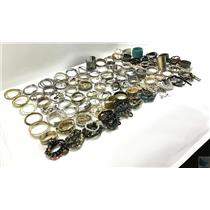 Lot of 11 lbs of Costume Bracelets Gold & Silver Tone From Airport Lost & Found