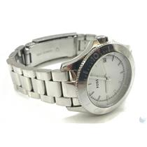Fossil AM4455 10ATM Stainless Steel Women's Watch From Airport Lost & Found
