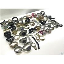 Lot Of 50+  Assorted Brands Mixed Watches - Working & Non Working