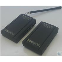 Amplivox Sound Systems S1600 Wireless 9 Volt Microphone Transmitter and Receiver
