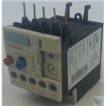 New Siemens  3ZX1012-ORU11-1AA1 Thermal Overload Relay Sirius 3R New 125% Trip