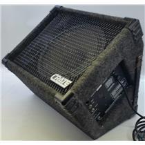 Crate Powered Floor Monitor PFM-60 Piezo Attenuator 60Watts @ 4 Ohm Tested/Works