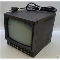 "Panasonic WV-5380A 9"" Black & White CRT Studio Monitor - Tested Working"