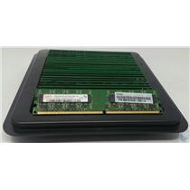Lot of 25 1GB DDR2 Desktop Memory PC2-5300u 667MHz RAM Mixed Brand