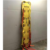 """Laerdal Baxstrap Spineboard Yellow 12 Pin : 16"""" x 72"""" x 2.5"""