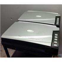 Lot of 2 Plustek Opticbook A300 Large Format Book Scanner - FOR PARTS