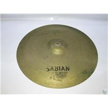"Sabian 22"" Unknown Model Crash/Ride Cymbal"