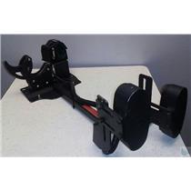 Setina  Dual Vertical Weapon Rack w Electronic Lock Gunrack