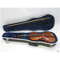 Andrew Schroetter 420 3/4 Size Violin with Case no Chinrest