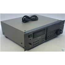 Sony DAT Digital Audio Recorder PCM-R500 4 Motor, Rack Ears 1 hr WORKS GREAT!