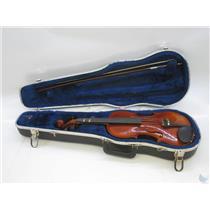 Andrew Schroetter 430 3/4 Size Violin with Case no Bridge