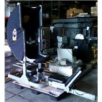 Ab Solo Model CT-3000 Core Training Machine - UPHOLSTERY TEARS & MISSING WIRE