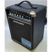 Acoustic B15 15W Bass Combo Amp OverDrive Circuit 3-Band EQ Shape Control Works!