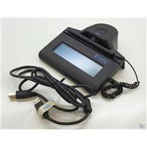 Topaz TF-LBK464-HSB-R USB Signature Tablet Biometric Fingerprint Scanner