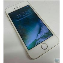 Apple iPhone 5s A1533 16GB iOS 10.3.3 Gold Smartphone - Verizon W/ Good IMEI