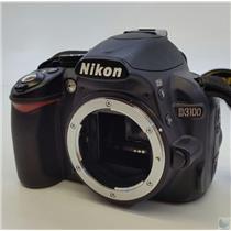 Nikon D3100 Digital SLR Camera with EN-EL14a Battery Pack  - Tested Working