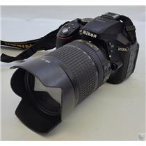 Nikon D5300 Digital SLR Camera with EN-EL14 Battery Pack  - Tested Working