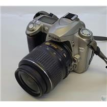 Nikon D50 Digital SLR Camera with EN-EL3e Battery Pack  - For Parts