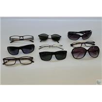 Lot of 85 Sunglasses Tinted/Untinted Glasses & Cases From Airport Lost & Found