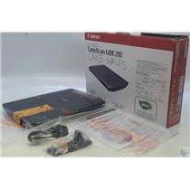 Canon CanoScan LiDE 210 USB Flatbed Scanner 4800x4800 Z-Lid 48Bit 4508B002 Black