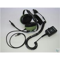 David Clark H6041 40416G-03 BTH Behind Head Aviation Mic Headset