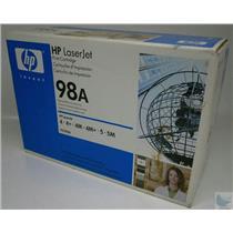 Genuine OEM HP  98A 92298A Black Toner LaserJet NIB