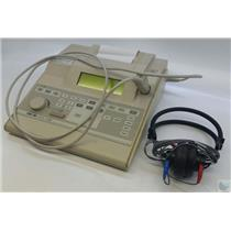 Grason-Stadler 1738 GSI 38 Version 4 Tympanometer with Telephonics Earphone