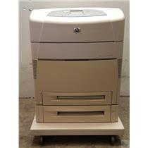 HP Color Laserjet 5550dtn Q3716A Printer TESTED & WORKING