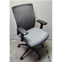Generic Gray Mesh Back Adjustable Pneumatic Desk Office Chair