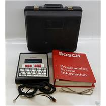 Bosch Radionics D5200 Alarm Programmer with Case & Manual
