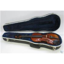 Andrew Schroetter 420 3/4 Size Violin with Case no Bow