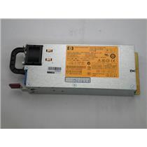 HP 599383-001 750W Hot Plug Power Supply Proliant G6 G7 591554-001 Refurbished