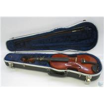 Andrew Schroetter 420 1/2 Size Violin with Bridge and Case