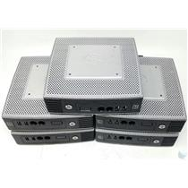 Lot of 5 HP t510 VIA EDEN X2 U4200 1 GHz 2 GB RAM Thin Client 2 GB FLASH