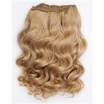 "Light strawberry blonde 24 wavy mohair weft coarse  6-8"" x200""  26585  FP"