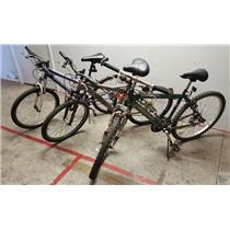 Lot of 3 Bicycles Mongoose Roadmaster Pacific LOCAL PICKUP - FOR PARTS