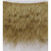 "fine mohair weft Blonde 22 4-6"" doll hair  2 yds  26292"