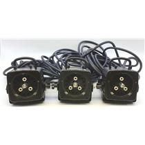 Lof of 3 Photogenic Powerlight 1250 DR PL1250L Light Head UNTESTED