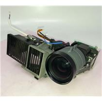 Mitsubishi SD205U Projector Lens/DMD Chip/Color Wheel Housing Assembly